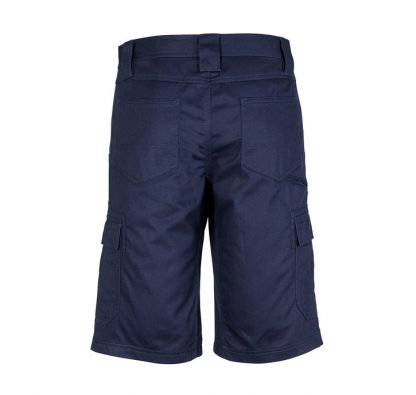 Basic Cargo Shorts Navy Back