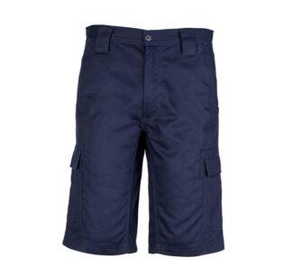 Basic Cargo Shorts Navy