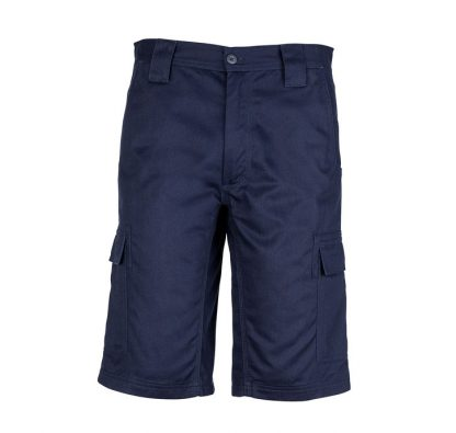 Basic Cargo Shorts Navy